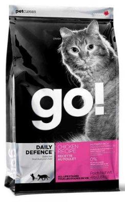 Сухой корм GO! Refresh + Renew Chicken Cat Recipe 32/20 для котят и взрослых кошек всех пород 3.63