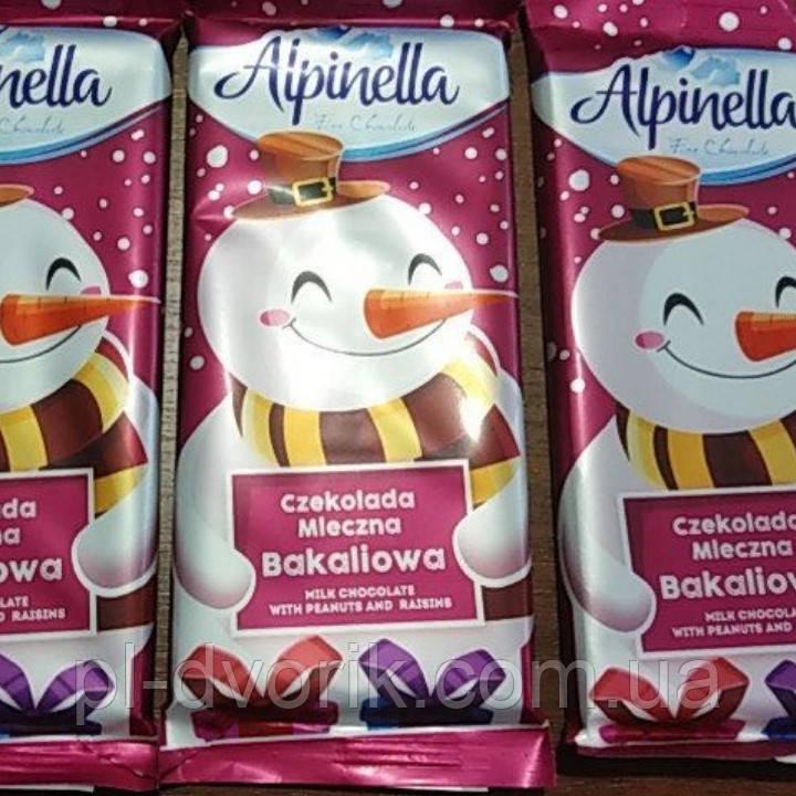 Шоколад альпинела 90гр