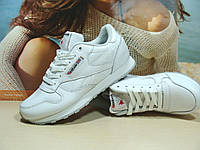 Женские кроссовки Reebok classic (реплика) белые 39 р., фото 1
