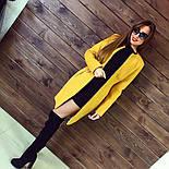 Женское модное кашемировое пальто *Квадрат* (расцветки) (размеры 42, 44, 46, 48), фото 7