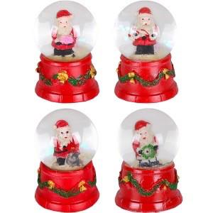 Шар светящий Дед Мороз