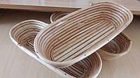 Формы для расстойки хлеба овальные на 1  кг. Расстоечные корзинки для теста