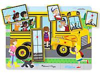 Звуковий пазл Шкільний автобус Melіssa & Doug (MD739), фото 1