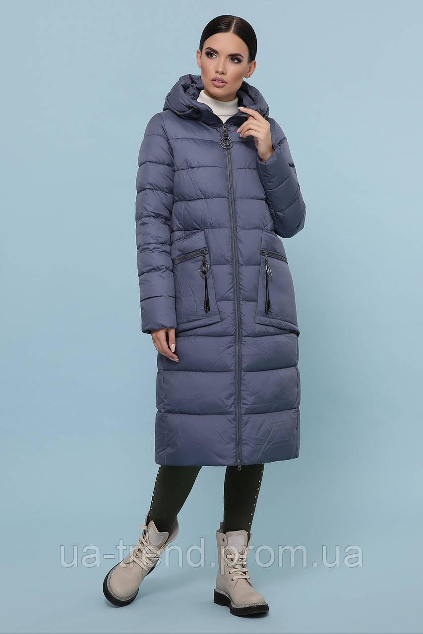 Женское зимнее пальто ниже колен