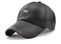 JAMONT кепка мужская зимняя кожа, фото 1