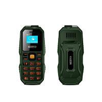 Телефон Servo S07 Green  Рус. кнопки