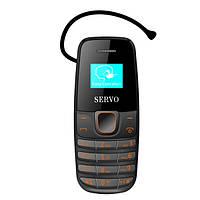 Телефон Servo S09 Black  Рус. кнопки