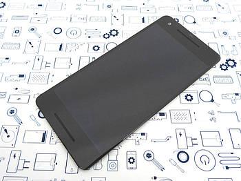 Дисплей Google Pixel 2 GO11A-B модуль в сборе черный оригинал с разборки Уценка