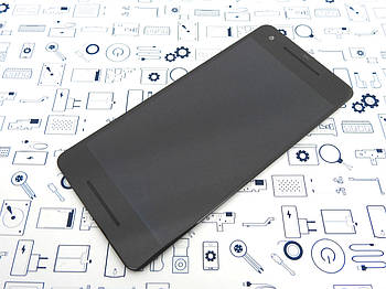 Уценка. Дисплей Google Pixel 2 GO11A-B модуль черный Сервисный оригинал с разборки