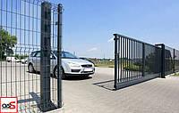 Ворота откатные промышленные «Ryterna»