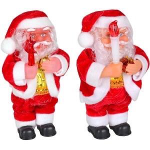 Игрушка Дед Мороз музыкальный 17 см