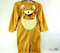 Карнавальный детский костюм медведя Мишки рост 125