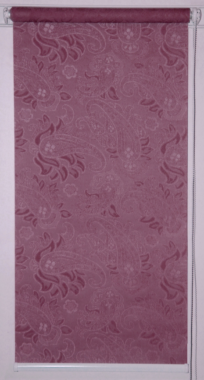 Рулонна штора Тканина Арабеска 2282 Фіолетовий
