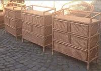 Комод плетеный из лозы с выдвижными ящиками