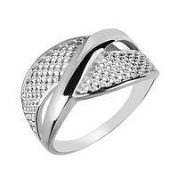 Серебряное кольцо Торинас с широкой узорной шинкой и перфорацией 20 000102861