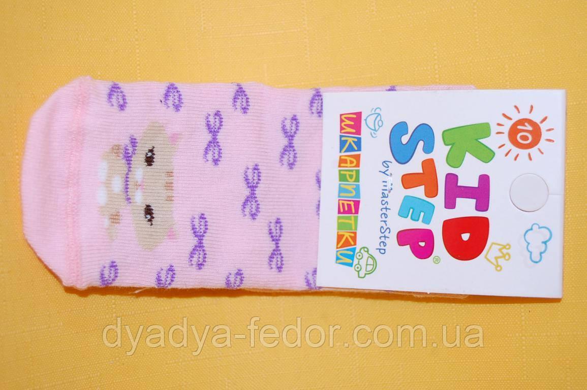 Шкарпетки Kid Step Україна 802 Для дівчаток Персик. розміри 16_24 см