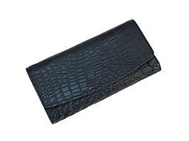 Кошелек из кожи крокодила Ekzotic Leather Синий (cw 95_1)