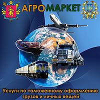 В Запорожье. Услуги по таможенному оформлению грузов и личных вещей, фото 1