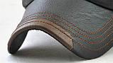 JAMONT кепка мужская зимняя кожа, фото 8