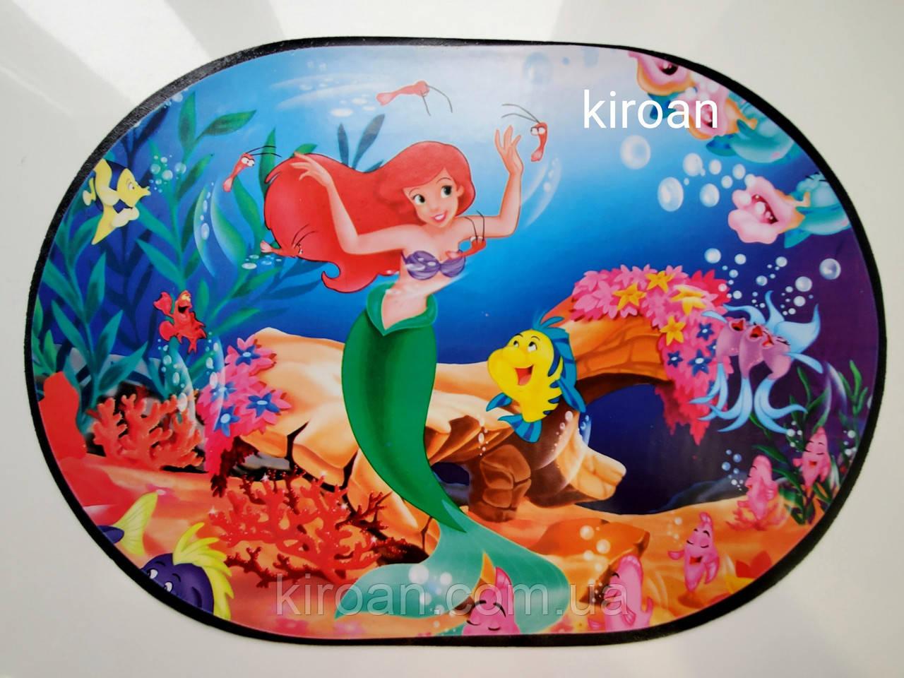 Салфетка для защиты стола во время трапезы и детского творчества 30х40 см (Русалочка)