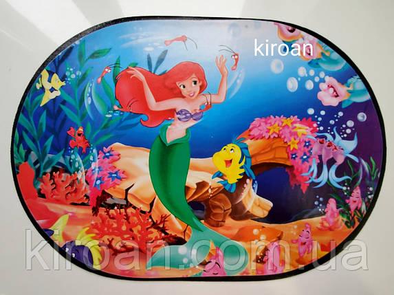 Салфетка для защиты стола во время трапезы и детского творчества 30х40 см (Русалочка), фото 2