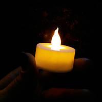 Электронная светодиодная свечка. Свеча для свадьбы, вечеринки, нового года и др. праздников