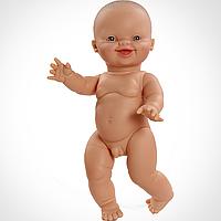 Кукла Пупс Мальчик младенец европеец Горди Paola Reina 34 см