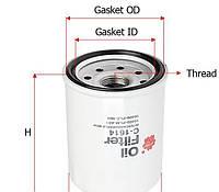 Масляный фильтр Sakura C1614