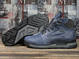 Зимние мужские ботинки 31051, Diesel Denim Division, темно-синие 1075803351