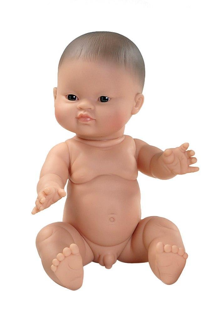 Кукла Пупс Мальчик младенец азиат Горди Gordi Paola Reina 34 см