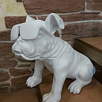 Статуэтка для декора трендовая Собака в очках