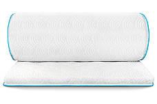 Міні-матрац скручений Sleep&Fly mini ЕММ Flex 2 в 1 Kokos (Флекс 2 в 1 кокос) жаккард, фото 2