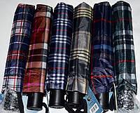 Мужские зонты в клетку Fiaba Полуавтомат на 8 спиц