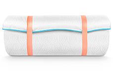 Мини-матрас скрученный  Sleep&Fly mini  ЕММ Flex 2 в 1 Kokos (Флекс 2 в 1 кокос) жаккард, фото 3