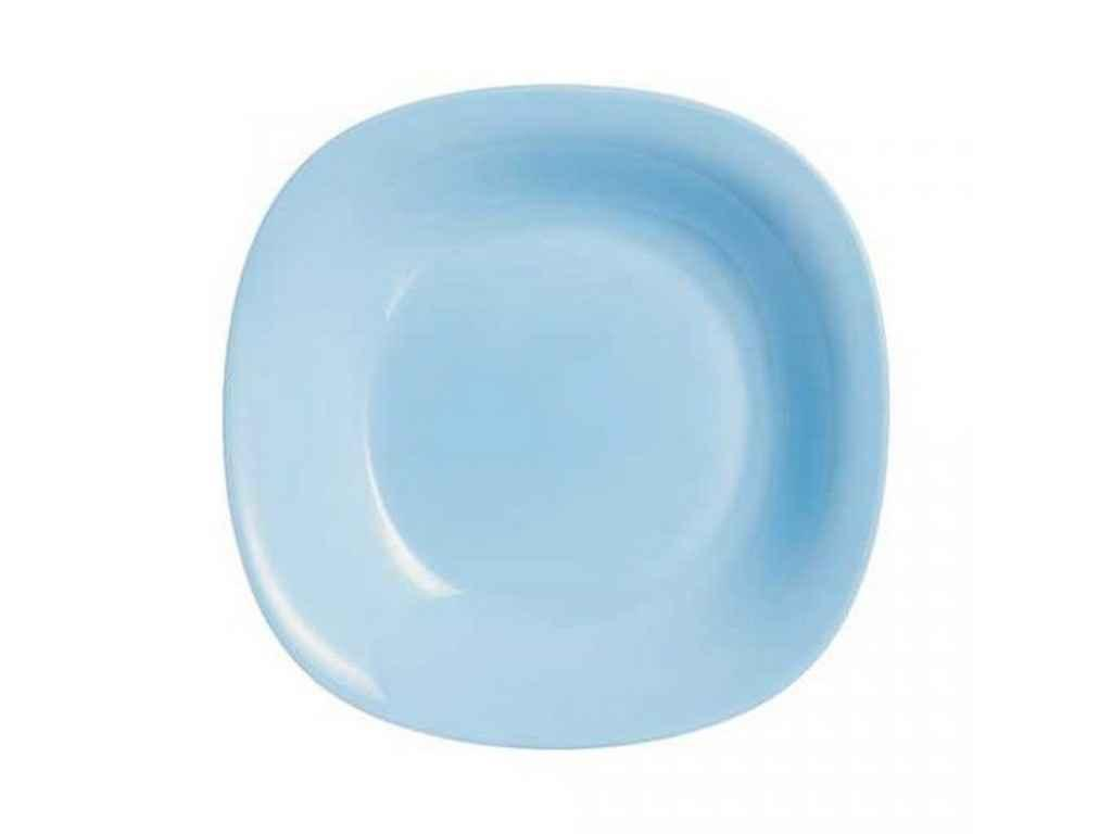 Тарілка глибока квадратна 21см Carine Light Blue (6шт в уп) P4250 ТМLUMINARC