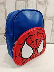 Качественный рюкзачок из Эко-кожи для мальчика Человек Паук Spiderman