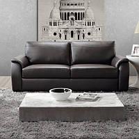 """Прямой диван из натуральной кожи """"Берк"""""""