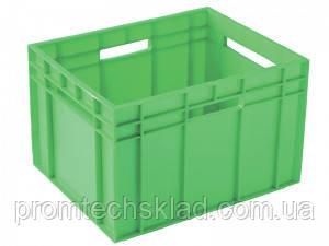 Ящик пластиковый  433*347*283 цветной вторичный