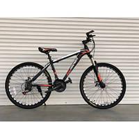 Спортивный велосипед TopRider-611 29 дюймов - 19рама. Дисковые тормоза. Шимано. Оранжевый