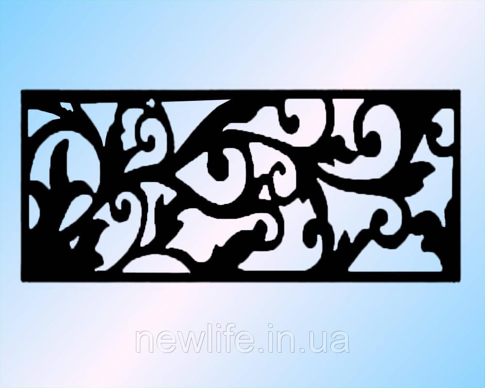 Ажурное панно из металла для оформления стены