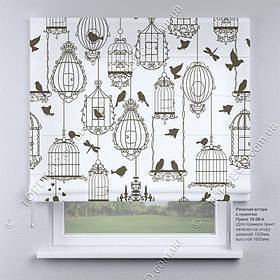 Римская фото штора Прованс. Бесплатная доставка. Инд.размер. Гарантия. Арт. 15-08-4