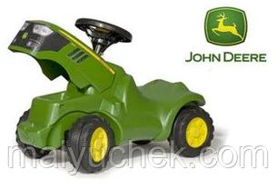 Трактор каталка Minitrack John Deere Rolly Toys 132072