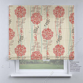 Римская фото штора Прованс. Бесплатная доставка. Инд.размер. Гарантия. Арт. 15-08-6