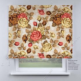Римская фото штора Прованс. Бесплатная доставка. Инд.размер. Гарантия. Арт. 15-08-7
