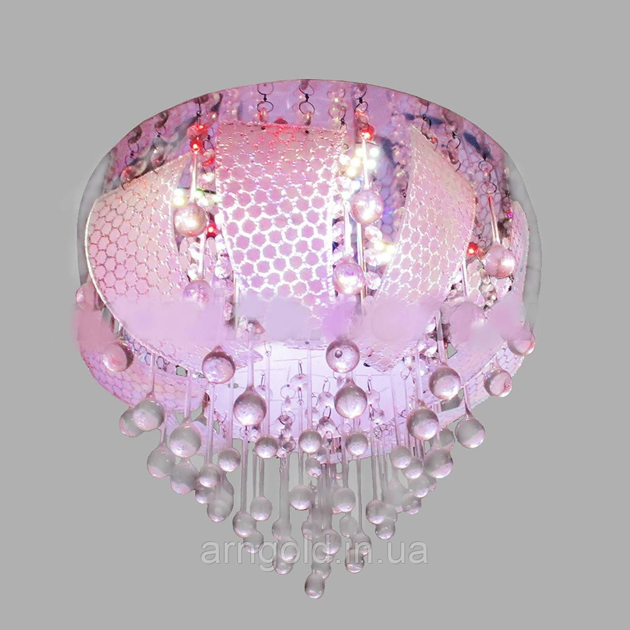 Люстра RGB LED 5540/400 RGB+E14+пульт