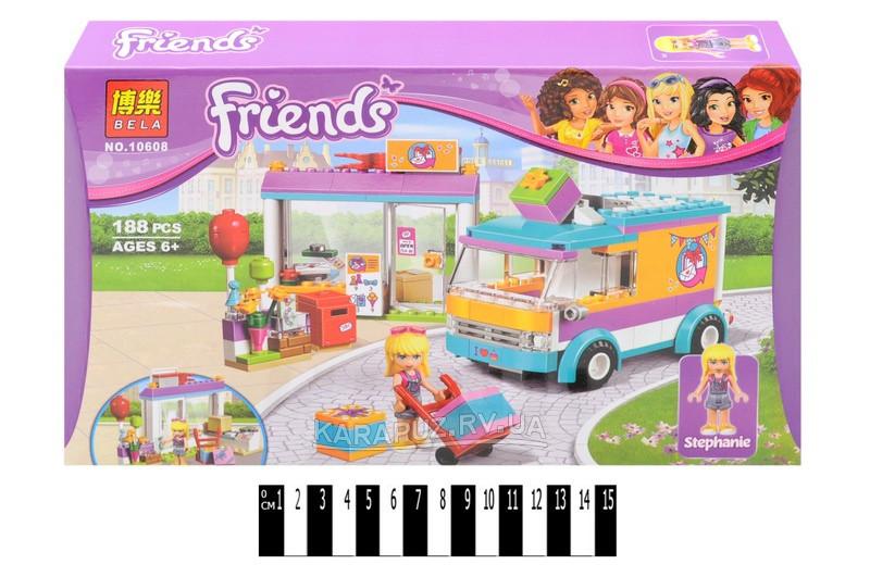 Конструктор для девочки Friends Френдс - Служба доставки подарков, аналог лего Bela 10608
