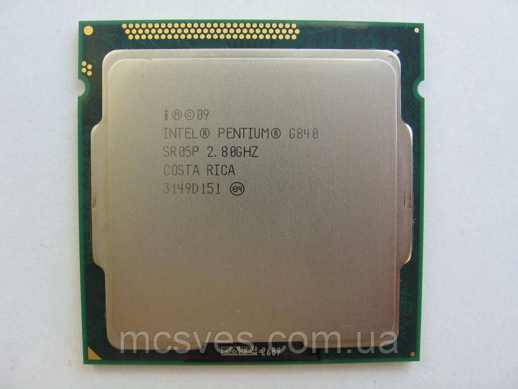 Процессор Intel Pentium G840 2.8GHz/5GT/s 3Mb 65W Socket 1155