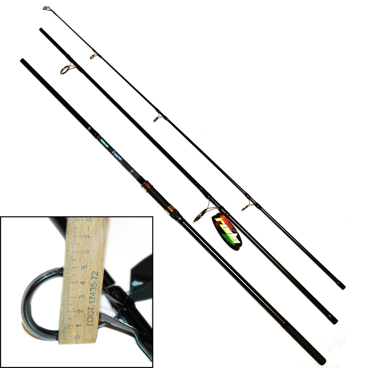 Спиннинг карповый Fishing ROI Dynamic Carp Rod 3.9 м.(первое кольцо 50мм.)