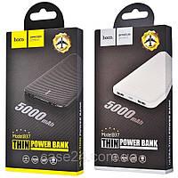 Внешний аккумулятор Power Bank (павер банк) HOCO B37 Persistent mobile 5000 mAh / портативная батарея, фото 1