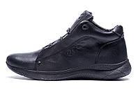 Мужские ботинки на меху Ессо New Kinhin черные р.41 Акция -50%!